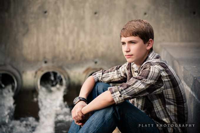 Highschool Portrait in Mesa Arizona