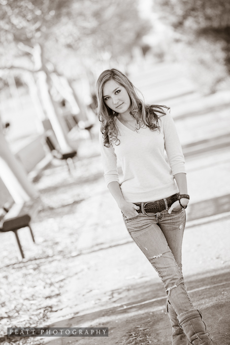 High school senior portrait in chandler arizona