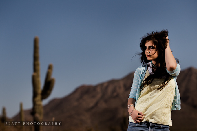 Senior Portrait in Chandler Arizona