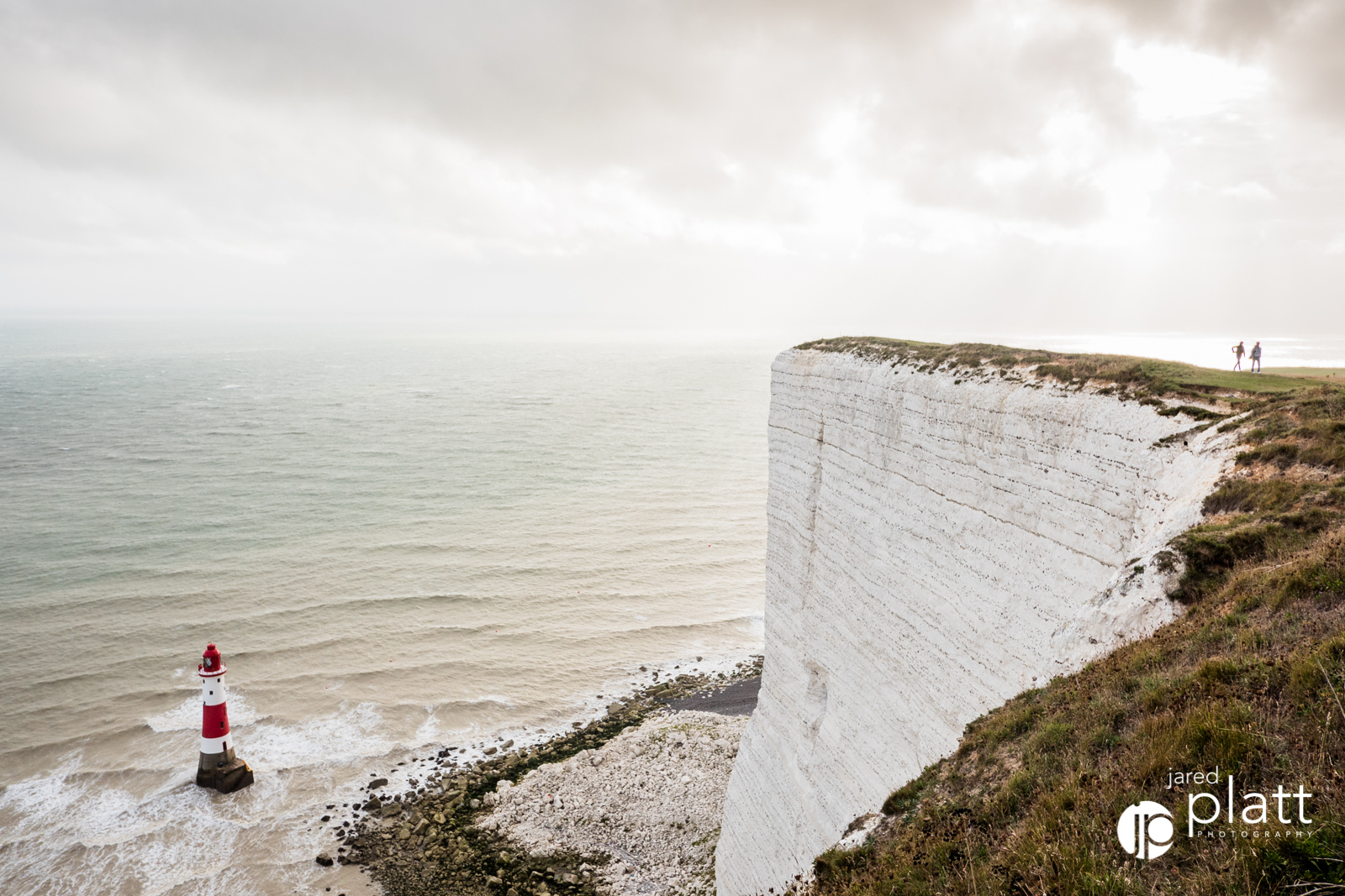The white cliffs made for a stunning coastline.