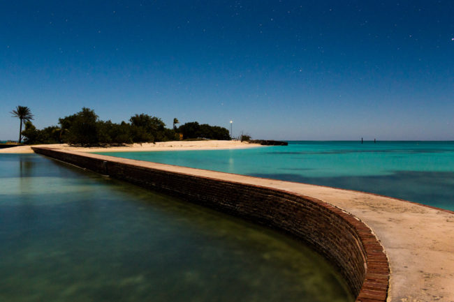 Engagement Portrait Adventure on the Dry Tortugas
